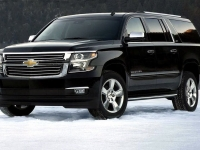 Chevrolet Suburban in the Snow